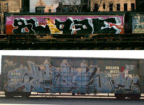 top to bottom trains