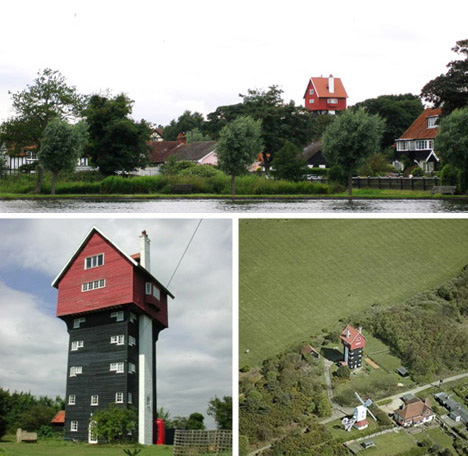 Water Tower Creatively Converted Into Sky House