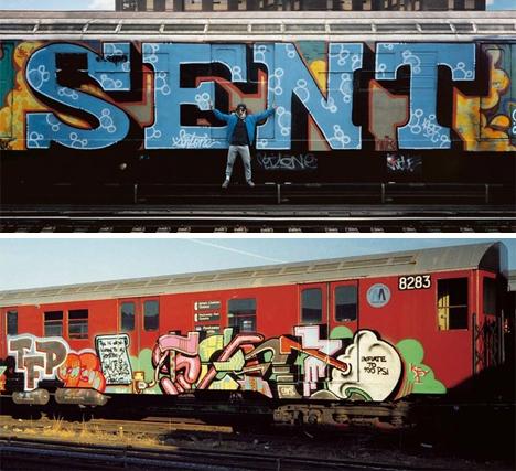 whole cars graffiti