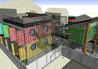 Keith Dewey/Zigloo Container Stackhouse