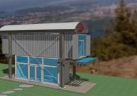 Keith Dewey/Zigloo Shipping Cabin