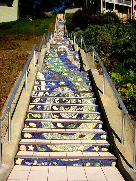 16th ave tiled steps san francisco