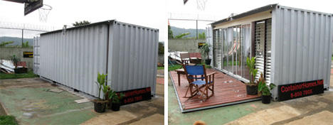 Cargo Container Apartments crazy cargo: 30 steel shipping container home designs | urbanist
