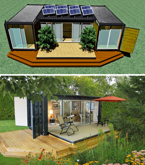 Small Shipping Container Homes ecopods shipping container buildings | urbanist