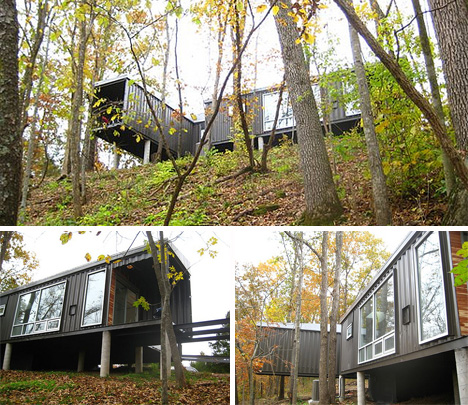 The 8747 house shipping container construction project for Shipping container homes builders