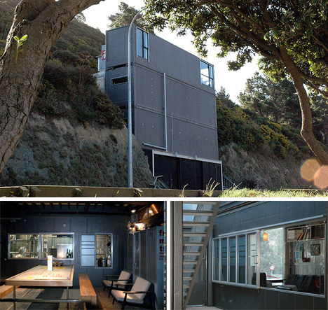New Zealand Cliffside Shipping Container Home Urbanist