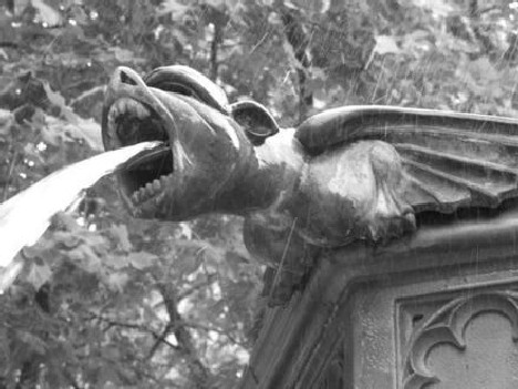 Like So Many Innovations Pioneered Or Perfected By The Romans Gargoyles Are Popularly Used Today To Give A Distinctive Look Fountains And Other Water