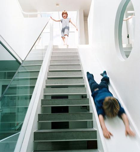 alex michaelis staircase slide