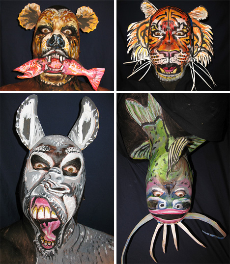 amazing face painting james kuhn animals
