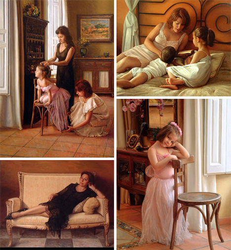antonio capel ultra realistic oil paintings
