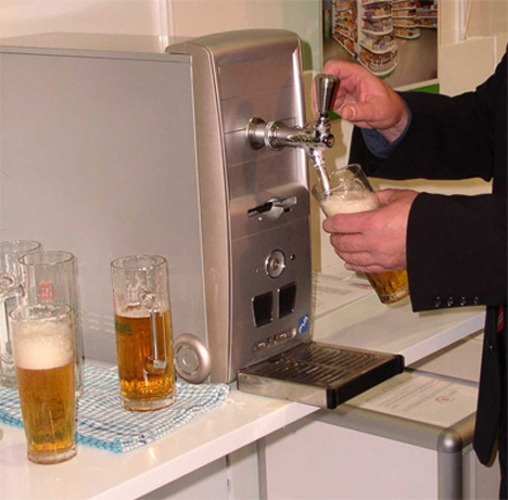 beer dispenser case mod