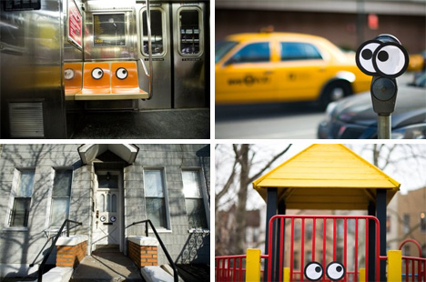 color me katie googley eyes street art