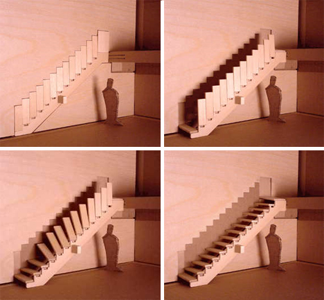disappearing staircase aaron tang