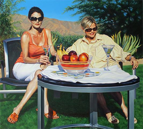 dj hall extremely realistic paintings