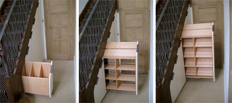 tread on me 15 crafty metal wood spiral staircases urbanist. Black Bedroom Furniture Sets. Home Design Ideas