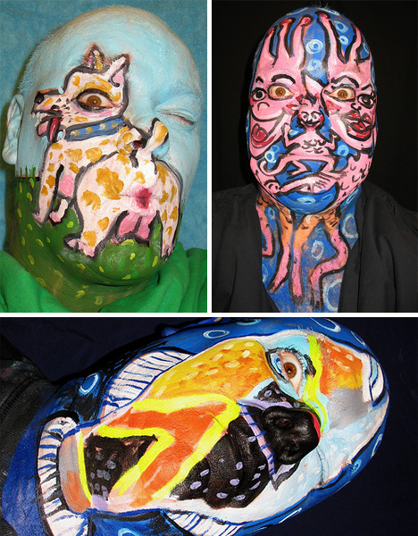 james kuhn incredible face painting animals