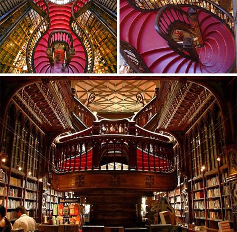 lello bookstore staircase