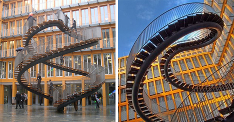 Olafur Eliasson Staircase To Nowhere