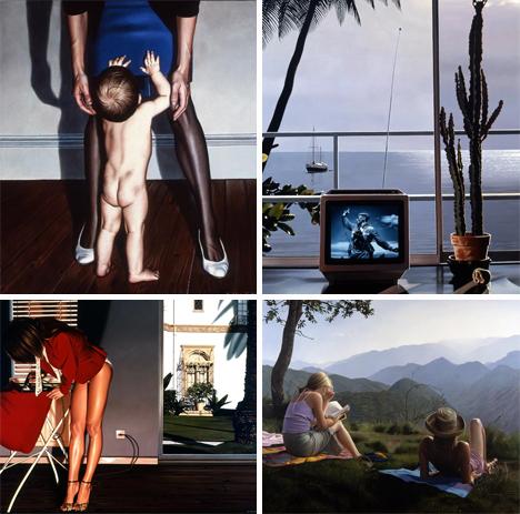 paul roberts photorealistic oil paintings