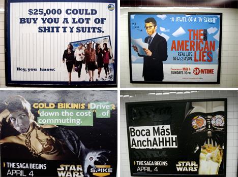 poster boy nyc poster mashup guerrilla graffiti street art