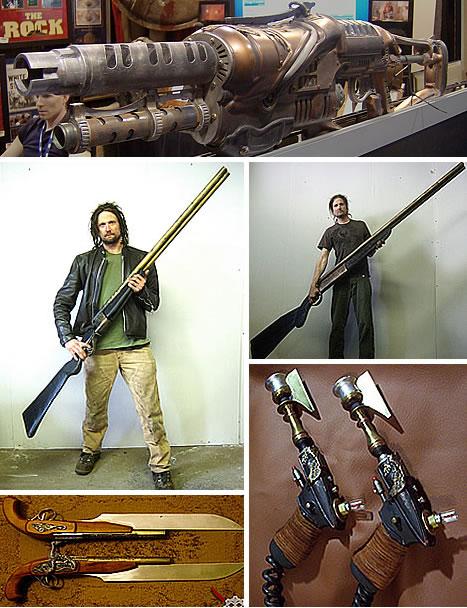 Sexy as Sin: Detailed Steampunk from Guns to Guitars ... 10 Gauge Double Barrel Shotgun