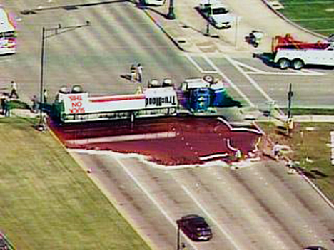 synthetic-blood-highway-spill