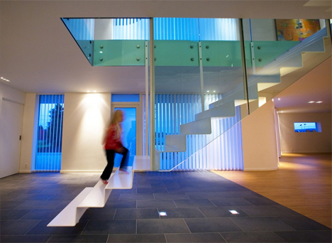 villa glittenberg floating stairs