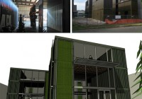 HyBrid Seattle Cargotecture Office Building