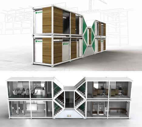 Lynx Temporary Housing By Richard Barnwall Urbanist
