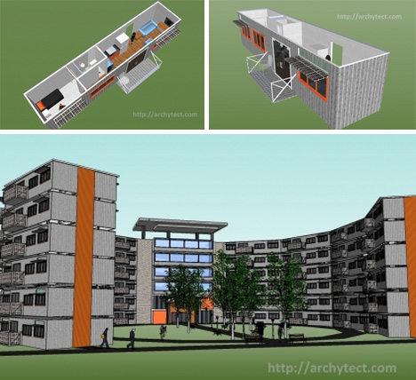 Student Dorms Apartment Building Concept Urbanist