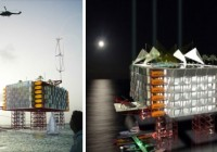 Offshore Oil Rig Hotels, Gulf of Mexico