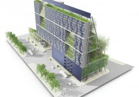 Vertical Urban Garden Shipping Container Building