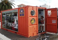 Musto Cargo Container Retail Store
