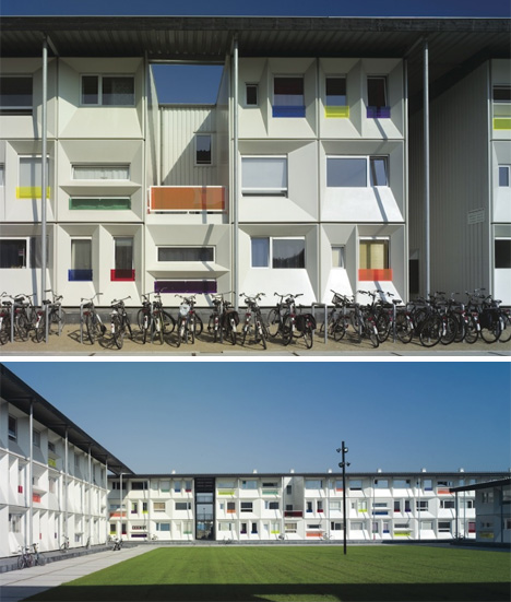Nyc Apartments For Students: Qubic Student Housing, Amsterdam