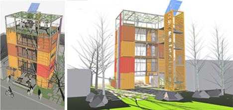 Hybrid architecture design for Architecture hybride