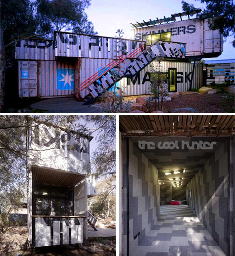 Shipping Container Playground By Phooey Architects