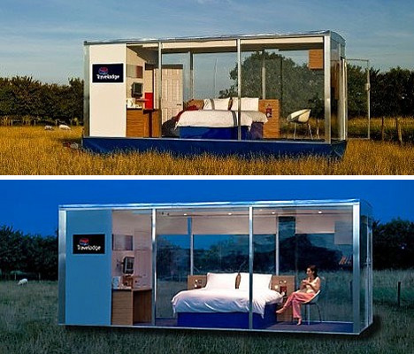 Travelodge travelpod hotel room concept urbanist for Hotel concepts