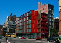 Lafayette Street Shipping Container Office Building, New York