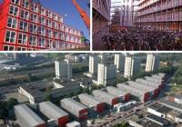 Tempohousing Keetwonen Student Housing, Amsterdam