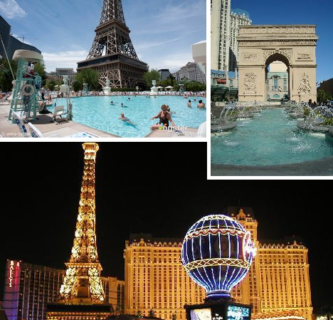 Sin city skinny dip 10 luxurious las vegas hotel pools for Paris hotel pool