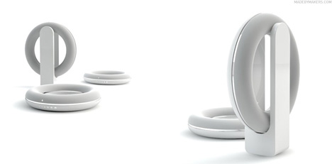 audi logo sonic ring speakers