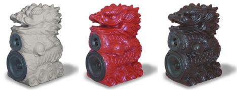 axelsson design dragon speakers