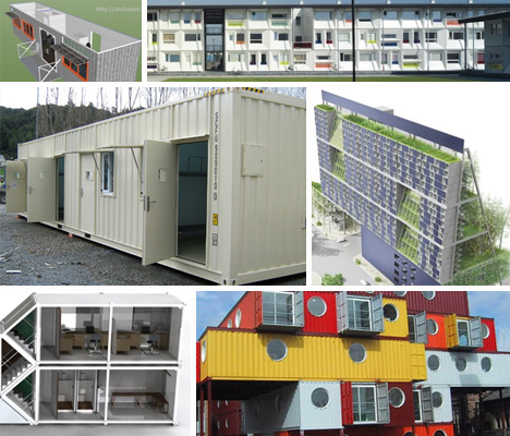 20 shipping container cities apartments emergency