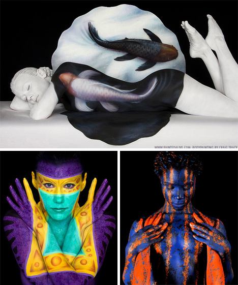 craig tracy body painting 1