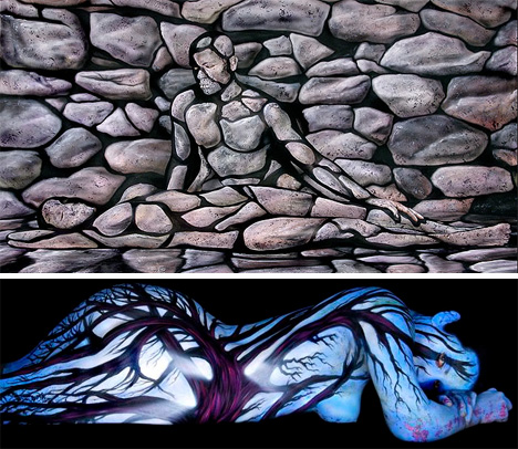 craig tracy body painting 3