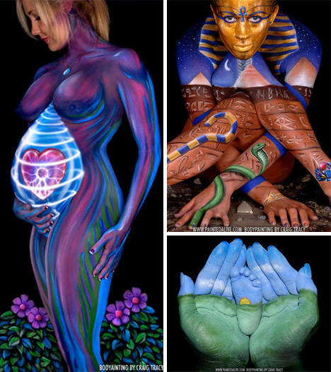craig tracy body painting 6