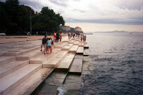 croatian sea organ