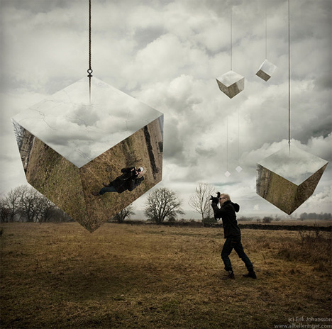 Mind Bending Digital Photo Manipulation by Erik Johansson