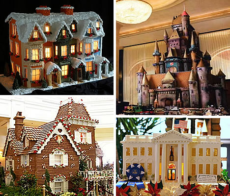 Houses Design on Astounding Architectural Designs Of Gingerbread Houses   Weburbanist