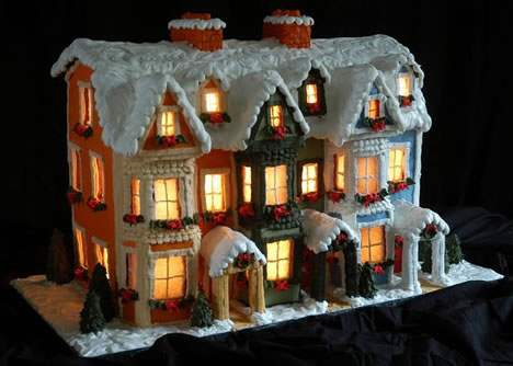 32 stounding rchitectural Designs of Gingerbread Houses Urbanist - ^
